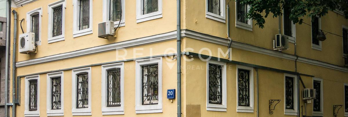 Административное здание Печатников переулок 20 с1